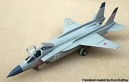 1/72 scale Yakovlev Yak-141 Freestyle Russian supersonic VTOL ...